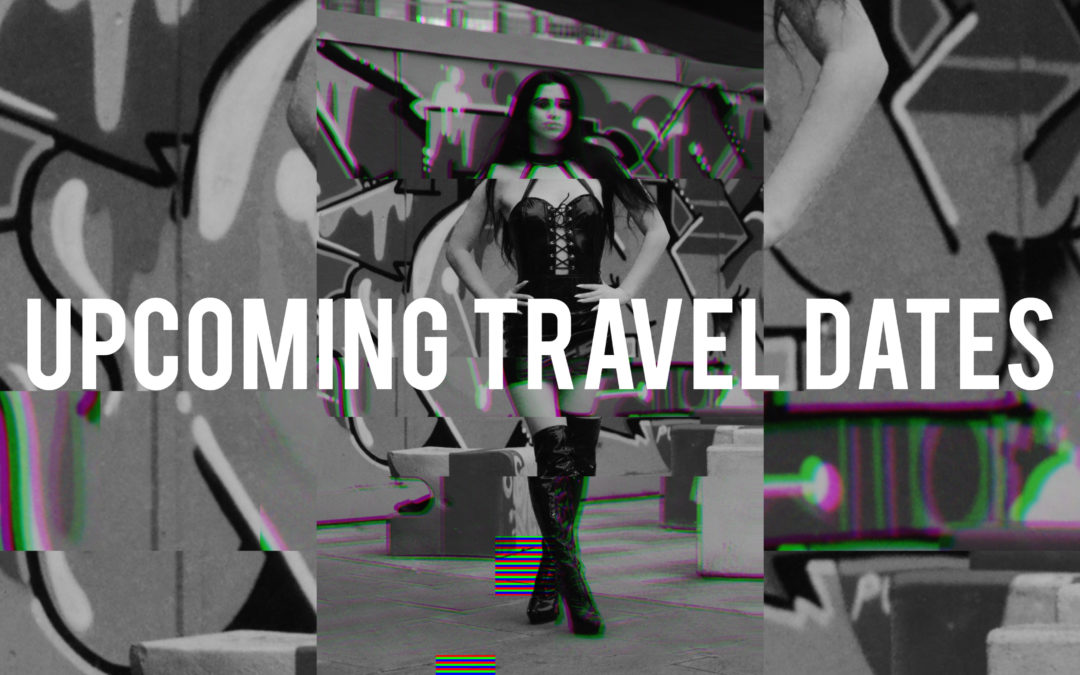 Upcoming Travel Dates, Double Domme Sessions and Events! (Oct-Nov)